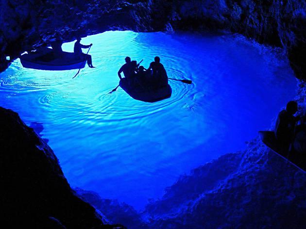 Blue Cave on Biševo Island
