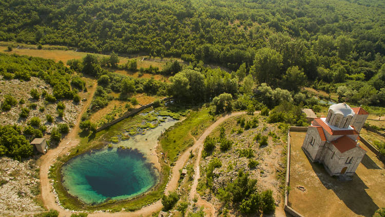 Source of the Cetina River