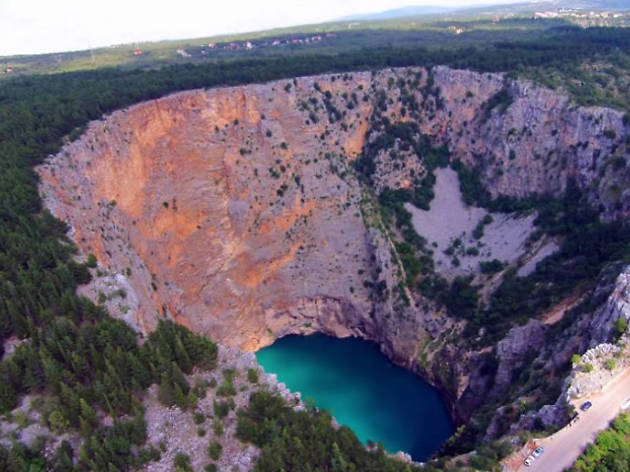 Red Lake in Imotski