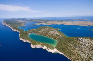 Slano Lake in Telaščica Nature Park