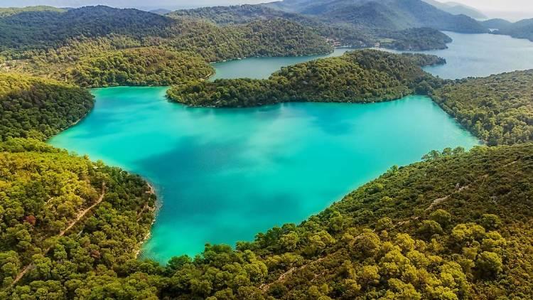 Lake in Mljet National ParkMljet National Park