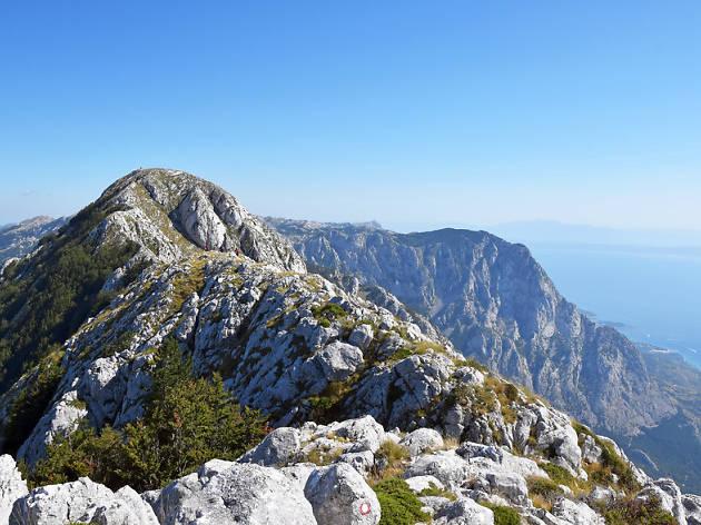 St Ilija at Biokovo Mountain