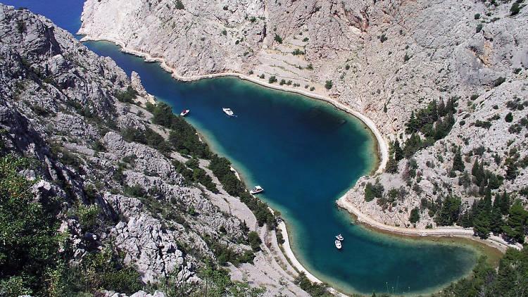 Zavratnica cove in Velebit