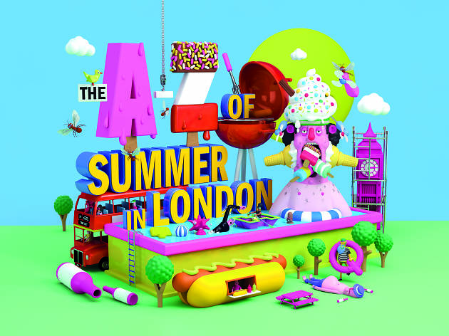 A-Z Of Summer In London