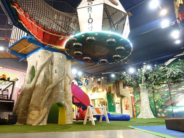 NYC's coolest indoor playgrounds