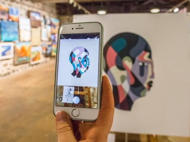 Flinders Quarter Augmented Art Walk Eye Jack