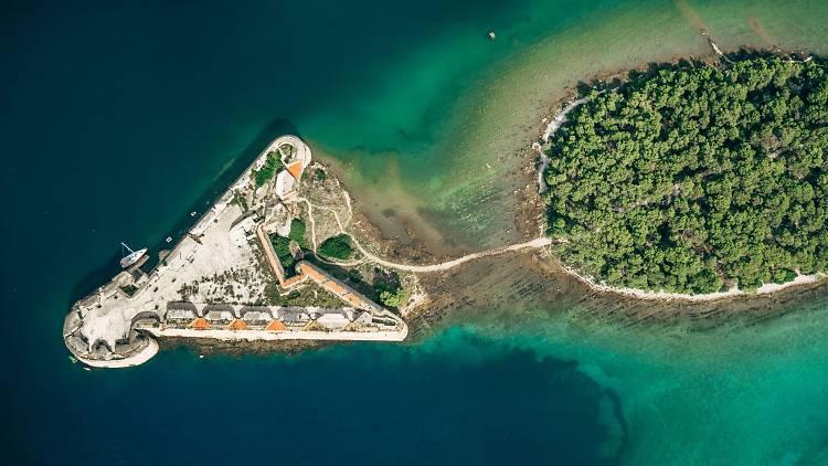 St. Nicholas Fortress in Šibenik
