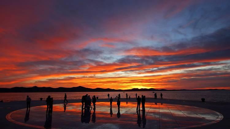 Greeting to the Sun in Zadar