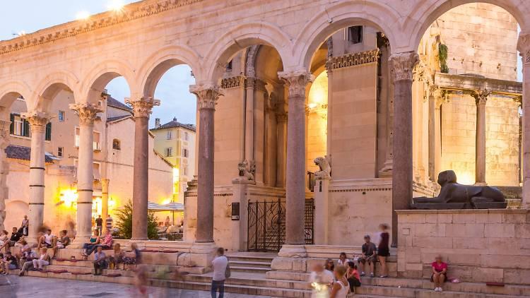Diocletian's Peristyle in Split