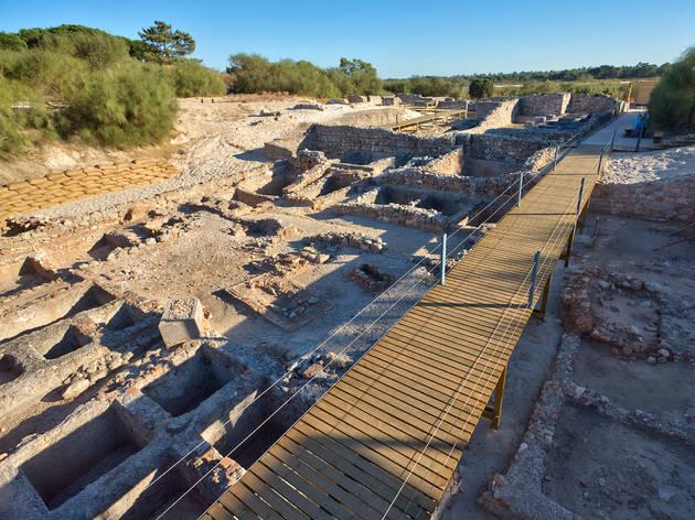 Ruínas Romanas de Troia