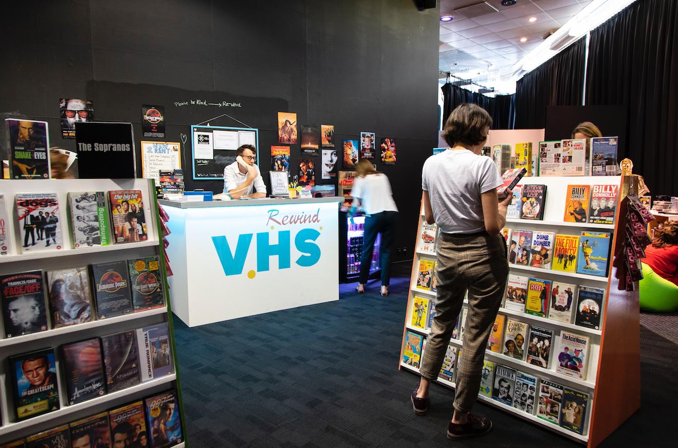 Nineties Video Store Pop-Up