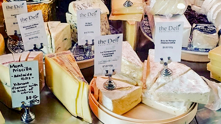 Cheese at The Deli Erskineville