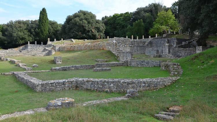 Roman-era villa in Brijuni National Park