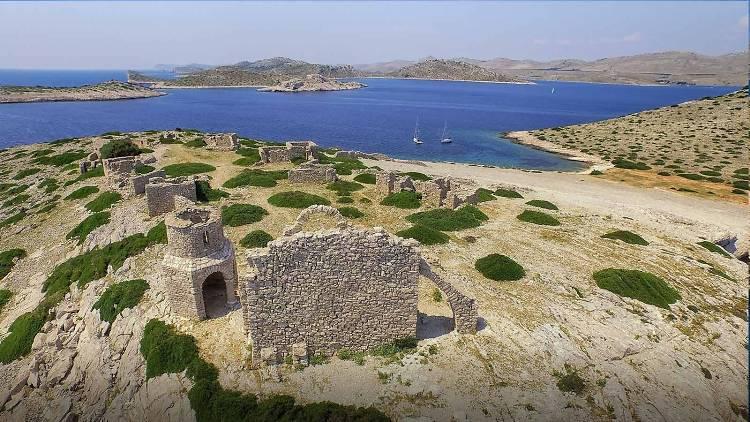 Ruins in Kornati National Park