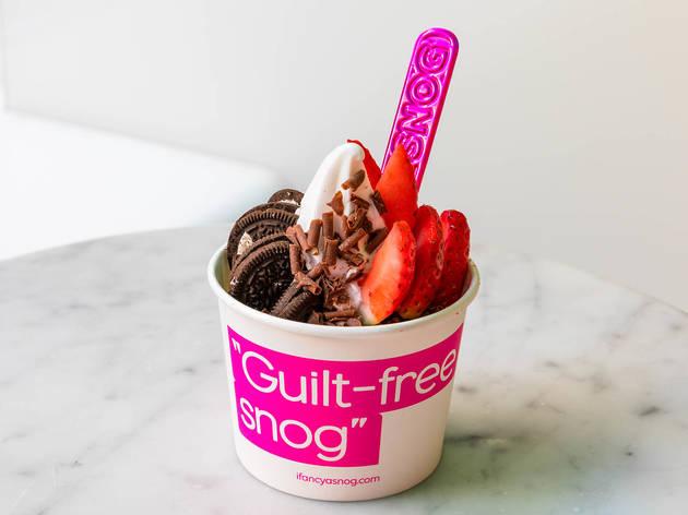 Snog Frozen Yogurt - Soho