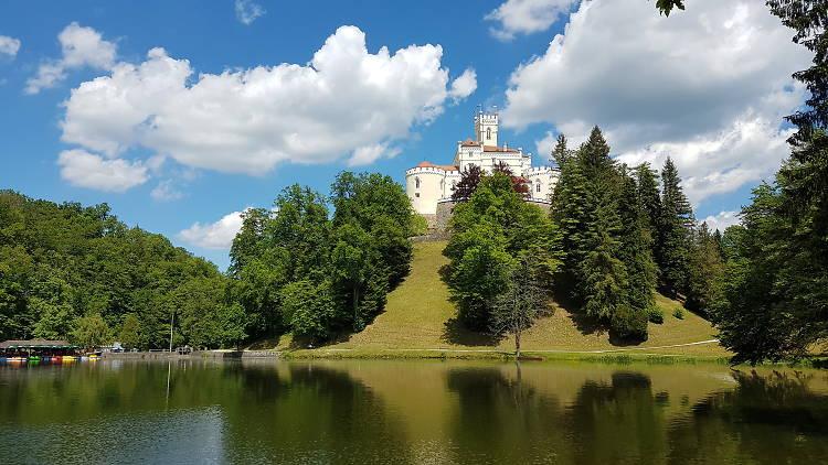 Trakošćan Castle, near Krapina