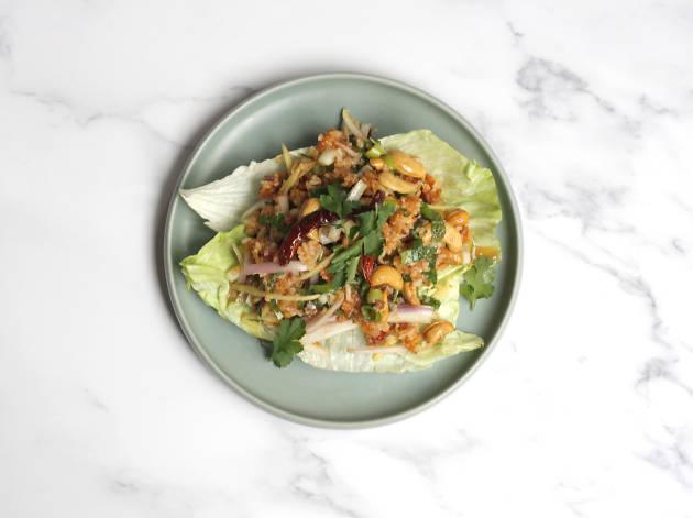 Thai Spiced Rice Salad at Kin + Deum