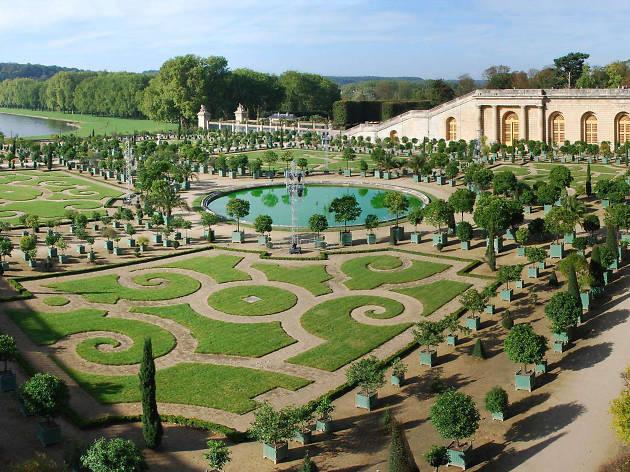 The orangery at the Château de Versailles