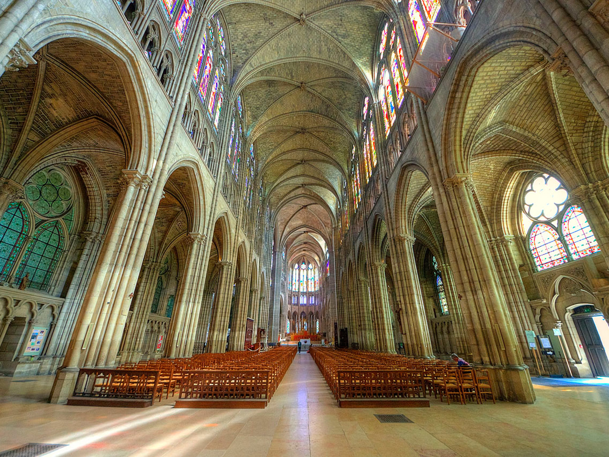 Inside the stunning Basilica of Saint-Denis