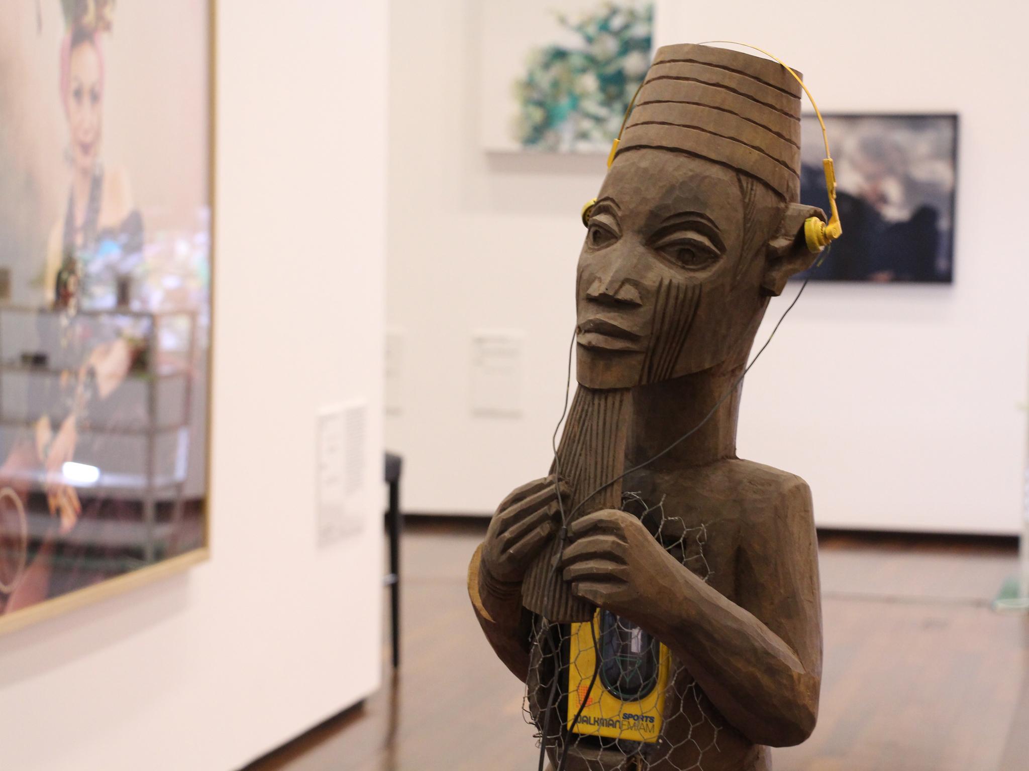 An exhibition at Mac Val arts centre in Vitry-sur-Seine