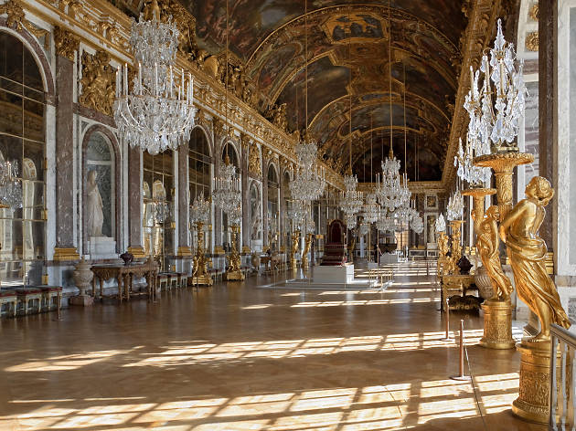 The Galerie des Glaces at the Château de Versailles
