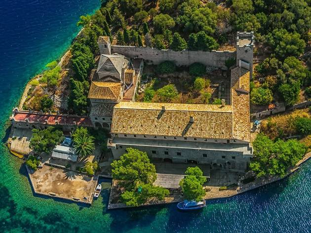 Church of St. Mary in Mljet National Park