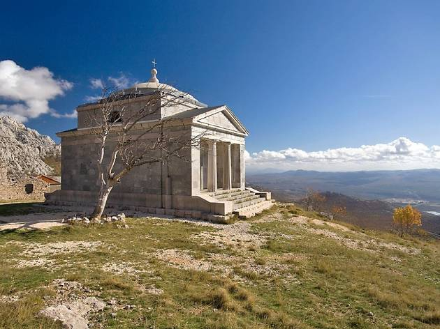 Chapel in Paklenica National Park