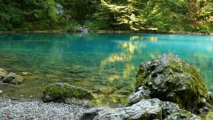 River Kupa in Risnjak National Park
