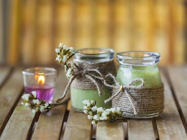 75% off a candle-making workshop