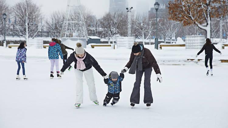 Patinoire Natrel du Vieux-Port de Montréal | Soirées thématiques à la patinoire du Vieux-Port