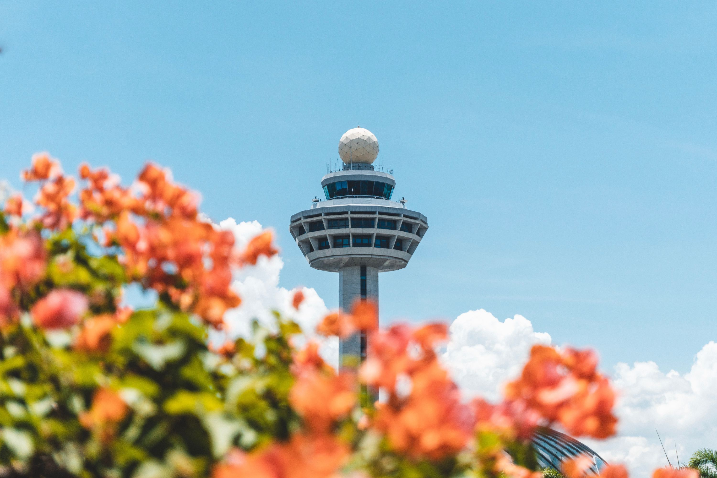Changi control tower