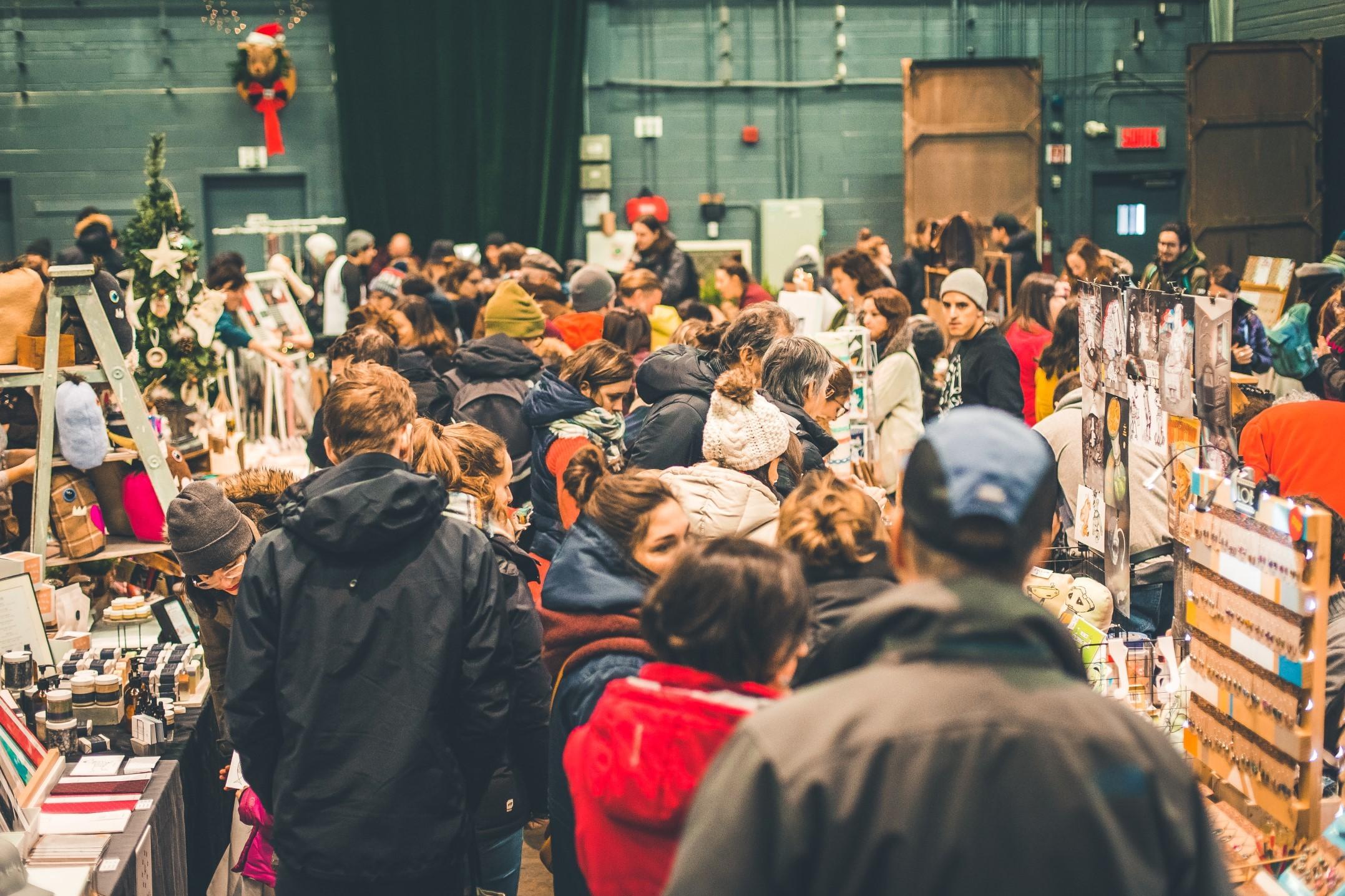 Marché des fêtes - Collectif Etsy (Hochelaga)