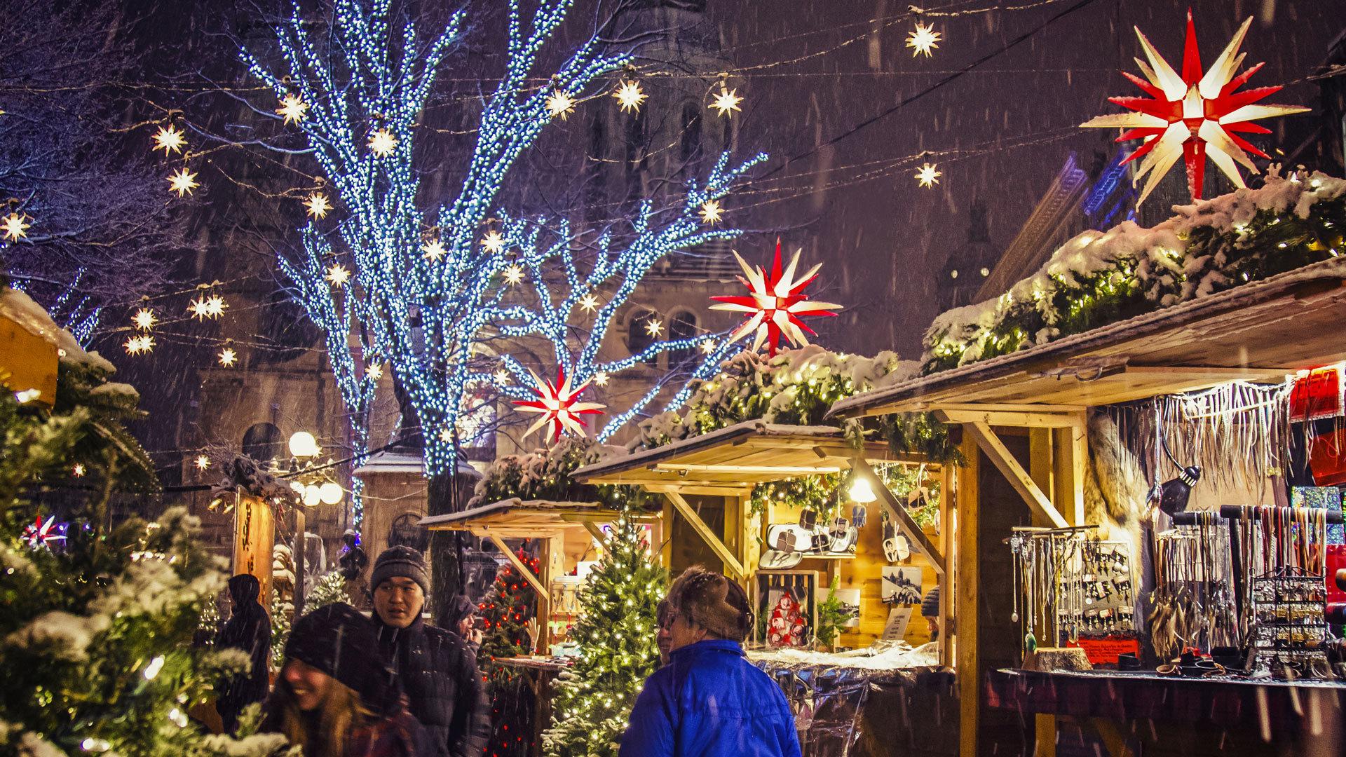 Le Marché de Noël allemand de Québec
