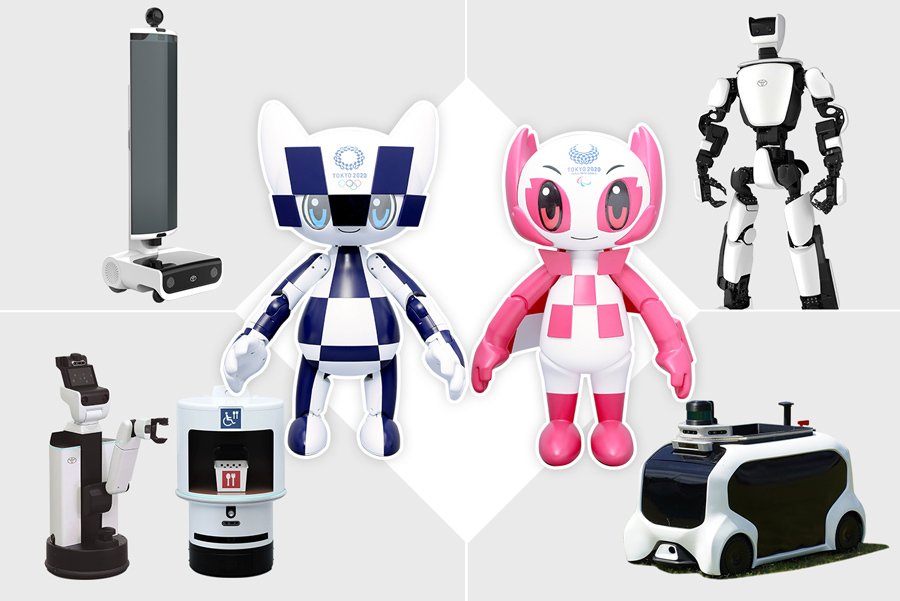 Meet the robots of the Tokyo 2020 Olympics