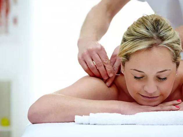 73% off a deep tissue massage at Holistic Healthcare
