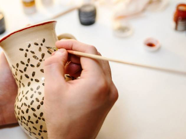 80% off a pottery and ceramics workshop