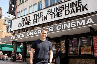 Paul Vickery, programmer at the Prince Charles Cinema