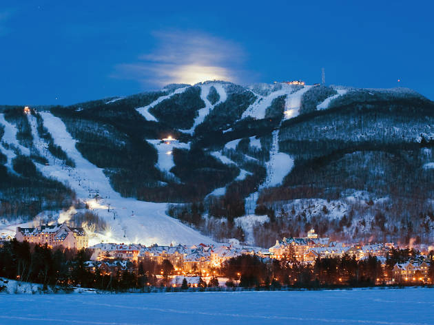 Canada Ski Resorts Map Near Montreal 13 Best Montreal Skiing Choices for Some Serious Winter Fun