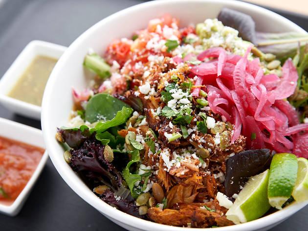 Food Envy: Salad bowl at Coyo Taco