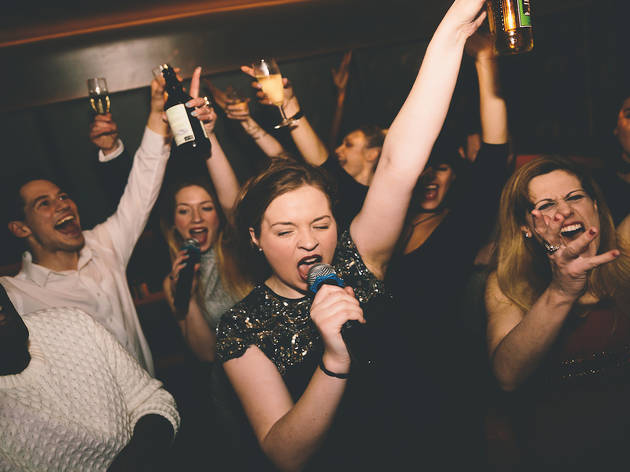 50% off two hours of karaoke and a cocktail at Lucky Voice
