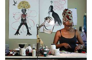 Jasmine Thomas-Girvan & Chris Ofili: Affinities