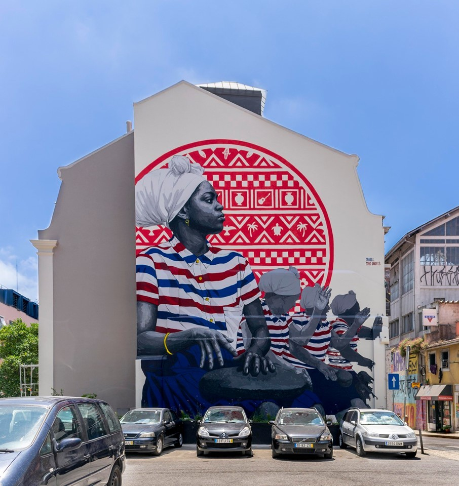 arte urbana rua de sao bento