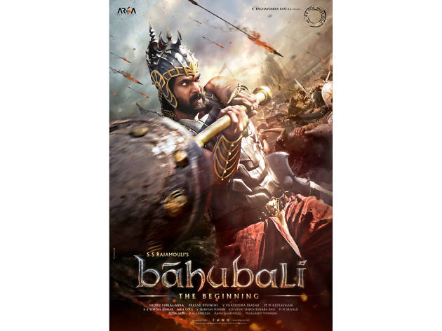 The poster for the Bollywood film Baahubali