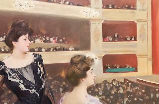 'El Liceu', de Ramon Casas