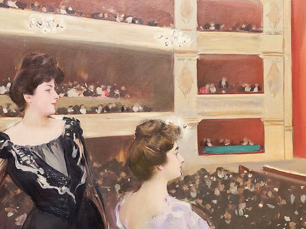 'El Liceu', Ramon Casas