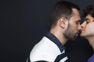 José Ramón Berganza, Milleth Gómez y Martín Saracho en Estúpida historia de amor en Winnipeg