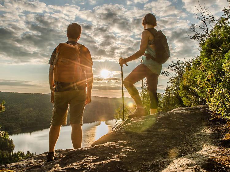 Où trouver les meilleures randonnées près de Montréal