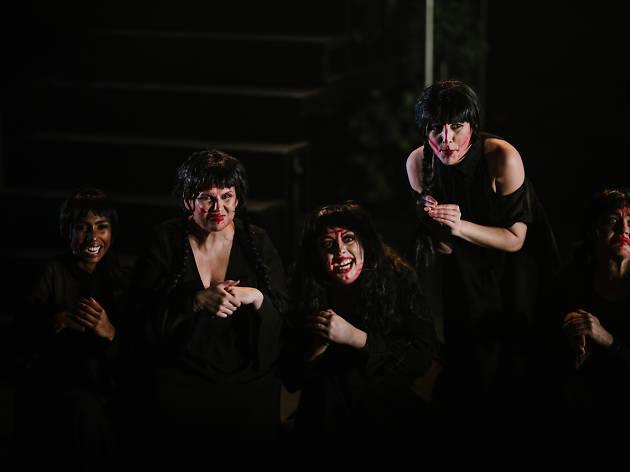 Let Men Tremble Theatre Works 2019 supplied