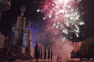 Piromusical Fiesta de Sants