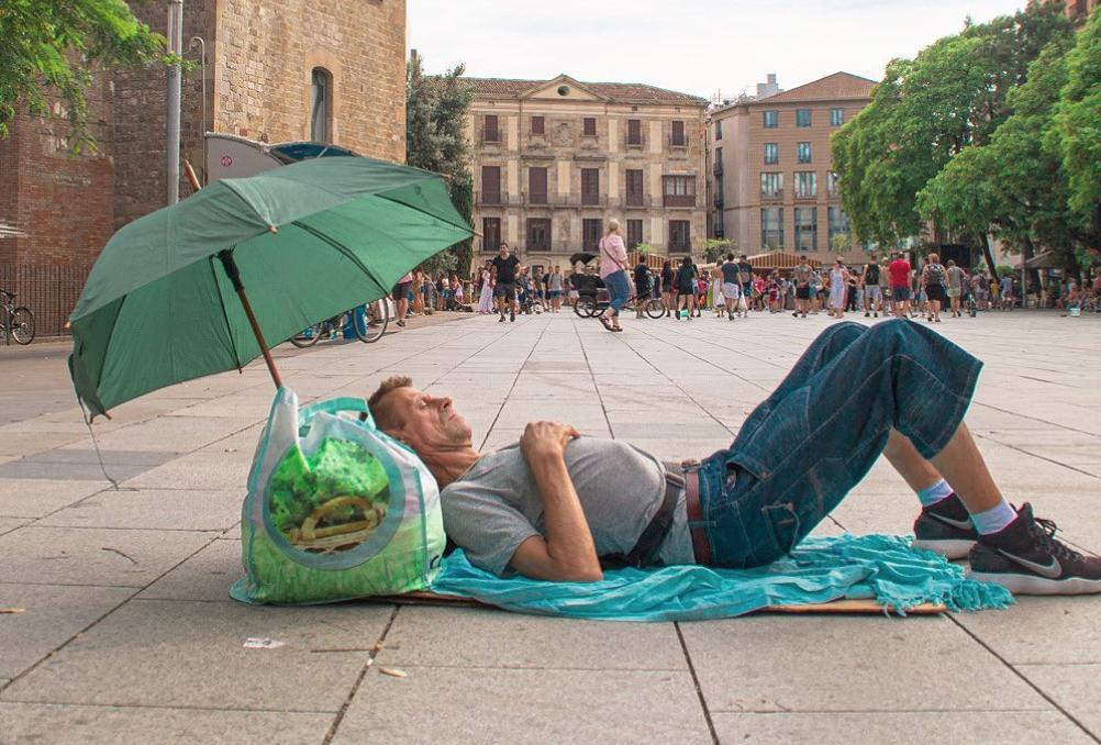 Com seria l'Instagram d'una persona sense sostre de Barcelona